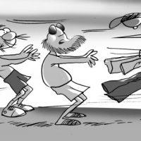 Caricatura Diógenes y Boquechivo – Diario Libre, Jueves 31 de Agosto 2017