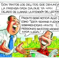 Caricatura Rosca Izquierda – Diario Libre, Jueves 31 de Agosto 2017