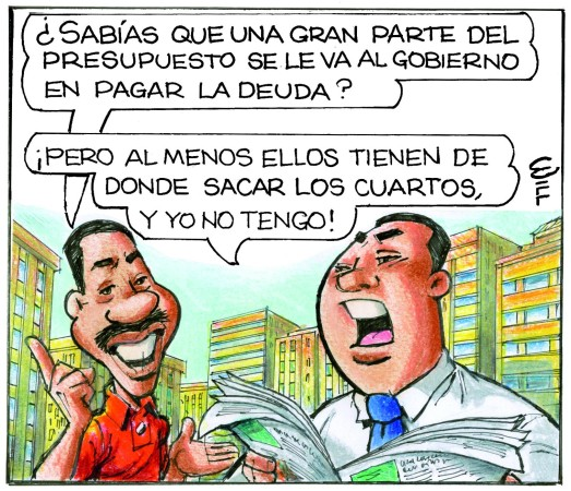 Caricatura Rosca Izquierda – Diario Libre, Lunes 28 de Agosto 2017