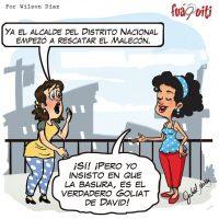 Vecina, recuerde que la basura es el enfoque – Caricatura Fuaquiti, Miércoles 30 de Agosto 2017