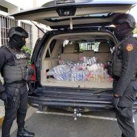 Autoridades decomisan 111 paquetes de drogas en SDE