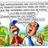 Caricatura Rosca Izquierda – Diario Libre, Lunes 04 de Septiembre 2017