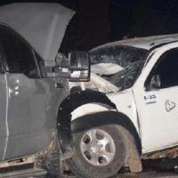 Accidente de tránsito deja dos muertos y cuatro heridos en Barahona
