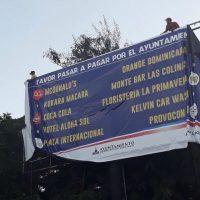 Alcaldía de Santiago publica empresas que no pagan impuestos al cabildo