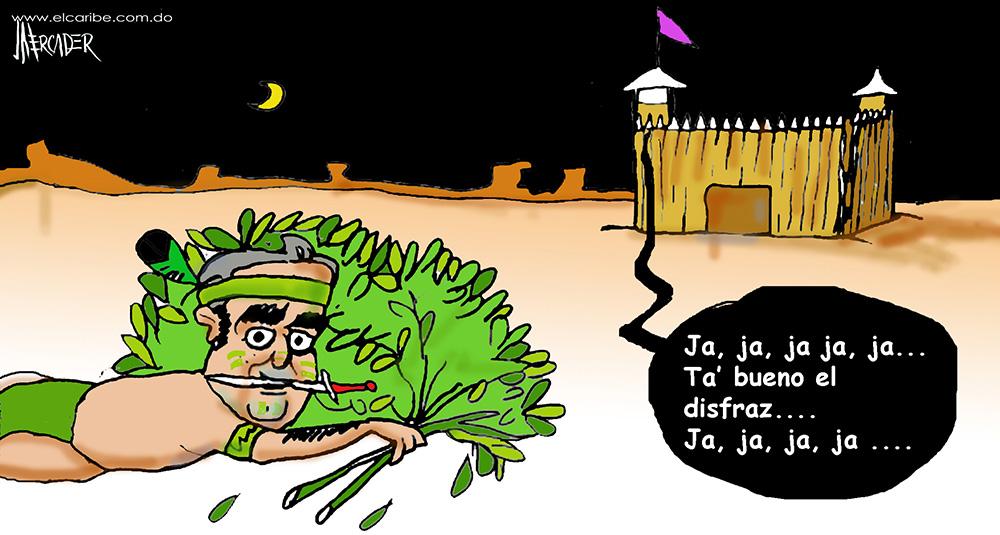 Caricatura El Caribe, Martes 24 de Octubre 2017