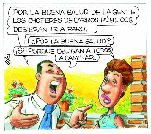 Caricatura Rosca Izquierda – Diario Libre, Viernes 20 de Octubre 2017