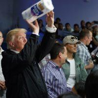 La visita de Donald Trump a Puerto Rico fue peor que sus tuits