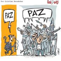 Encuentro a favor de la paz – Caricatura Fuaquiti, Octubre 17 del 2017
