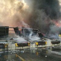 Grupo Plaza Lama afirma incendio inició luego de que personal se había marchado