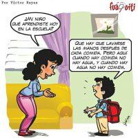La situación está difícil mami… – Caricatura Fuaquiti, Domingo 01 de Octubre 2017