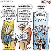 Mientras tanto en la cámara de imputados… – Caricatura Fuaquiti, Octubre 08 del 2017