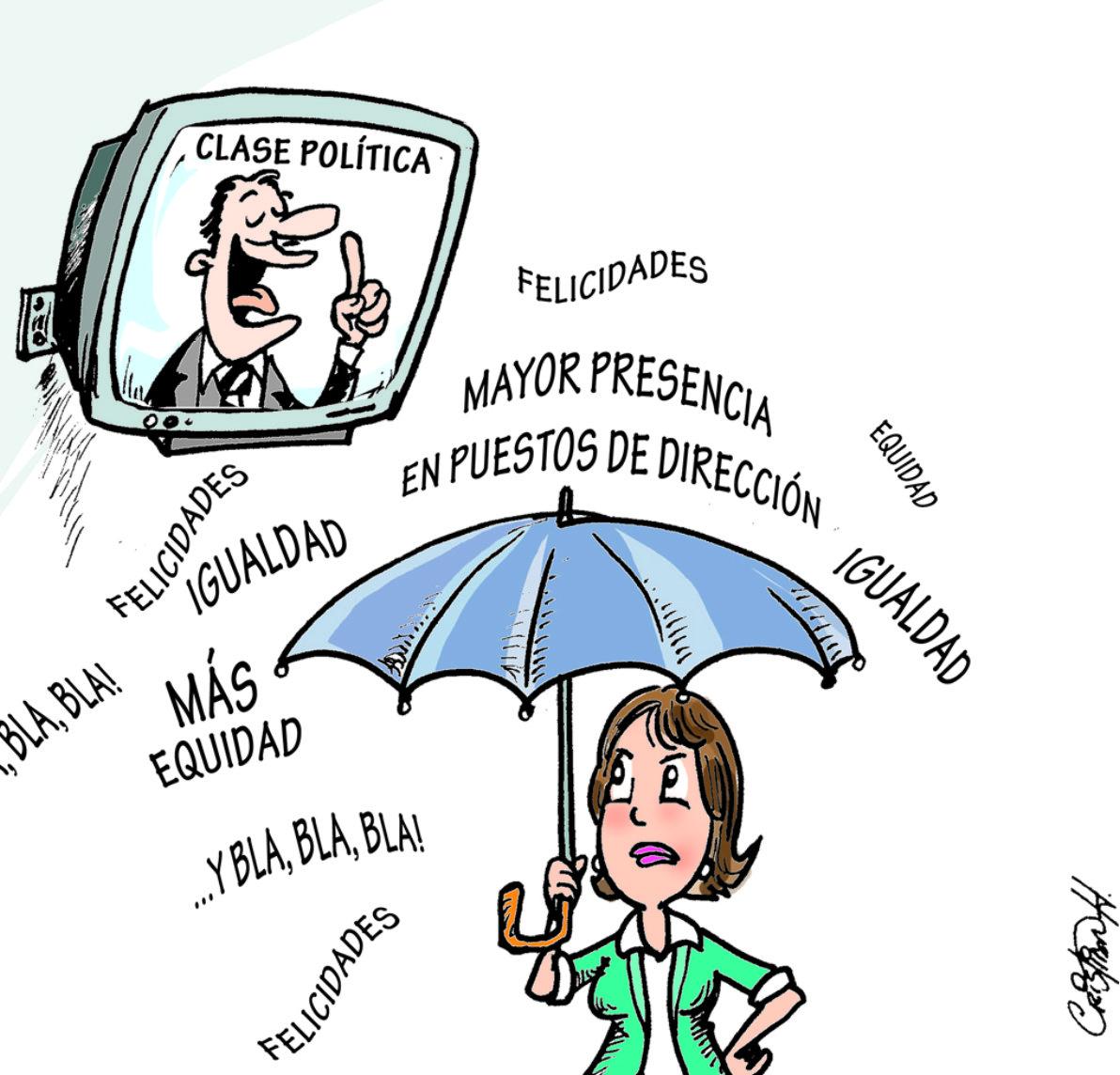 Caricatura El Día, 09 de Marzo 2018