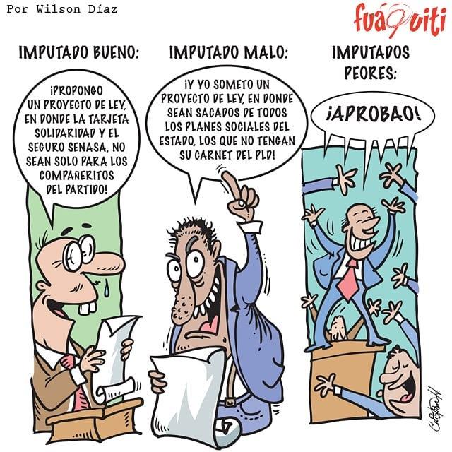 Caricatura Fuaquiti, 26 de Marzo 2018