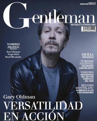 Portada Gentleman, 19 de Marzo 2018