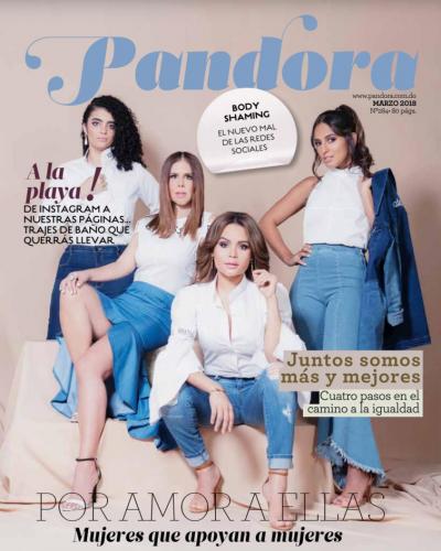 Portada Pandora, Marzo 27 2018