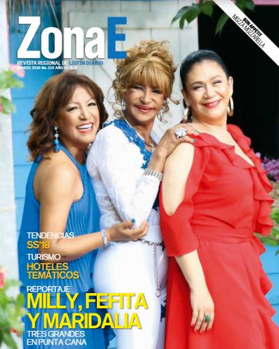 Portada ZonaE , 23 de Marzo 2018