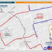 Rutas alternas para evitar tapones durante entrega de #PremiosSoberano