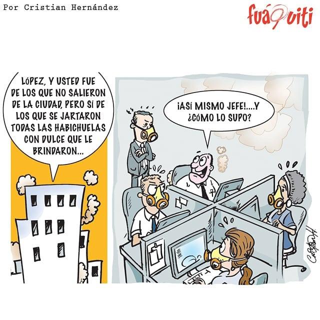 Caricatura Fuaquiti, 04 de Abril 2018