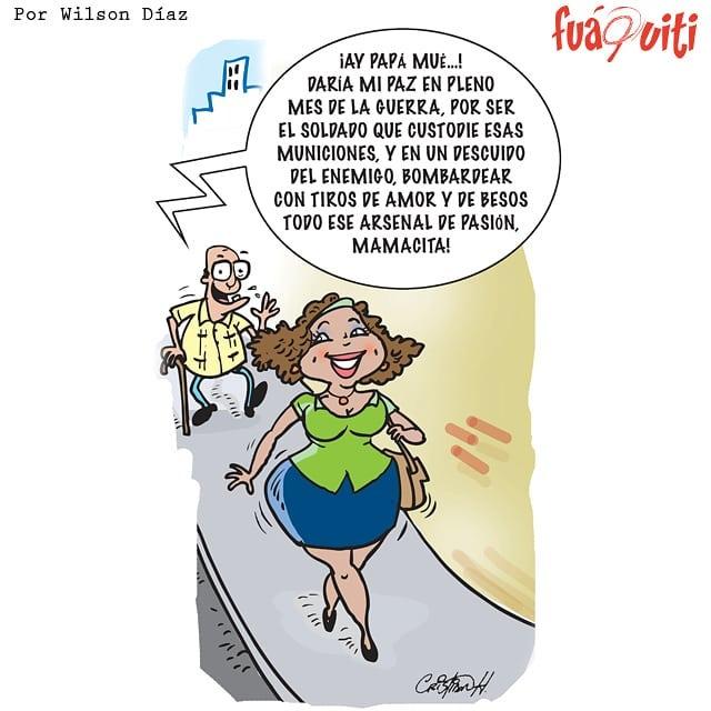 Caricatura Fuaquiti, 26 de Abril 2018