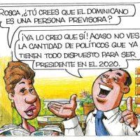 Caricatura Rosca Izquierda – Diario Libre, 08 de Mayo 2018