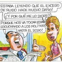 Caricatura Rosca Izquierda – Diario Libre, 21 de Mayo 2018
