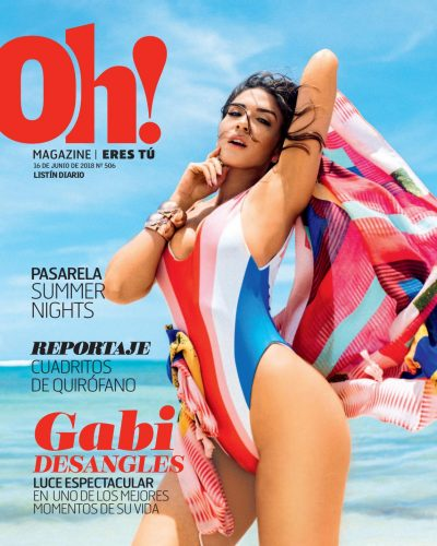 Portada Oh! Magazine, 15 de Junio 2018