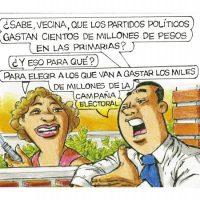 Caricatura Rosca Izquierda – Diario Libre, 29 de Septiembre 2018