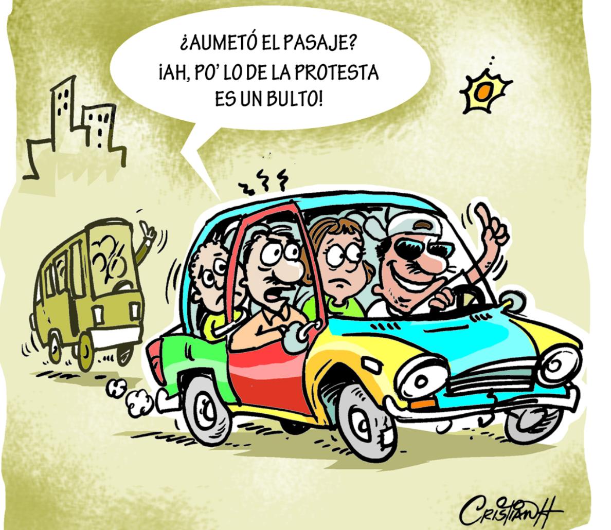 Caricatura Cristian Caricaturas – El Día, 03 de Octubre 2018