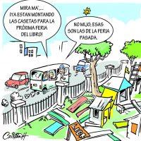 Caricatura Cristian Caricaturas – El Día, 05 de Octubre 2018