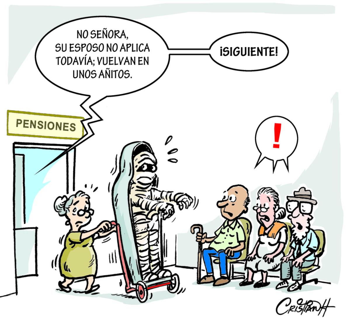 Caricatura Cristian Caricaturas – El Día, 08 de Octubre 2018