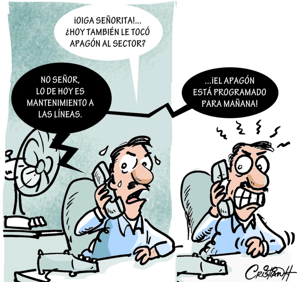 Caricatura Cristian Caricaturas – El Día, 10 de Octubre 2018