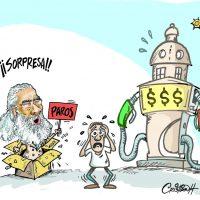 Caricatura Cristian Caricaturas – El Día, 11 de Octubre 2018