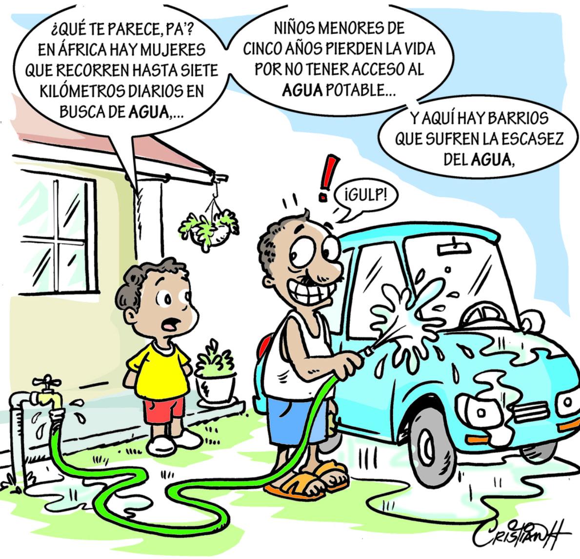 Caricatura Cristian Caricaturas – El Día, 16 de Octubre 2018
