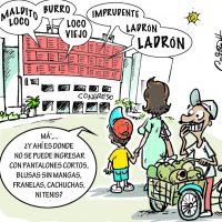 Caricatura Cristian Caricaturas – El Día, 18 de Octubre 2018
