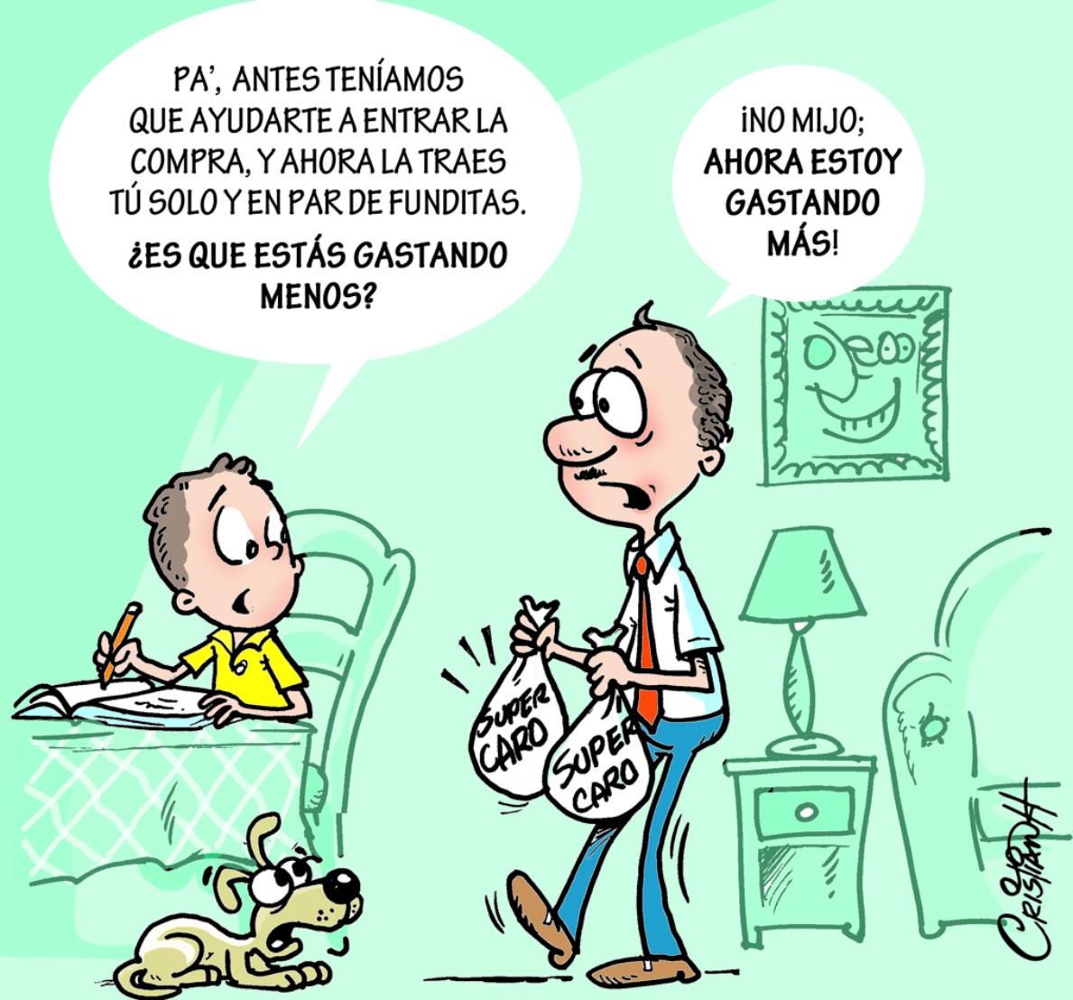 Caricatura Cristian Caricaturas – El Día, 24 de Octubre 2018