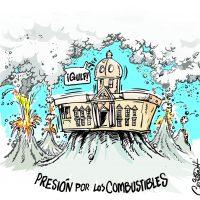 Caricatura Cristian Caricaturas – El Día, 25 de Octubre 2018