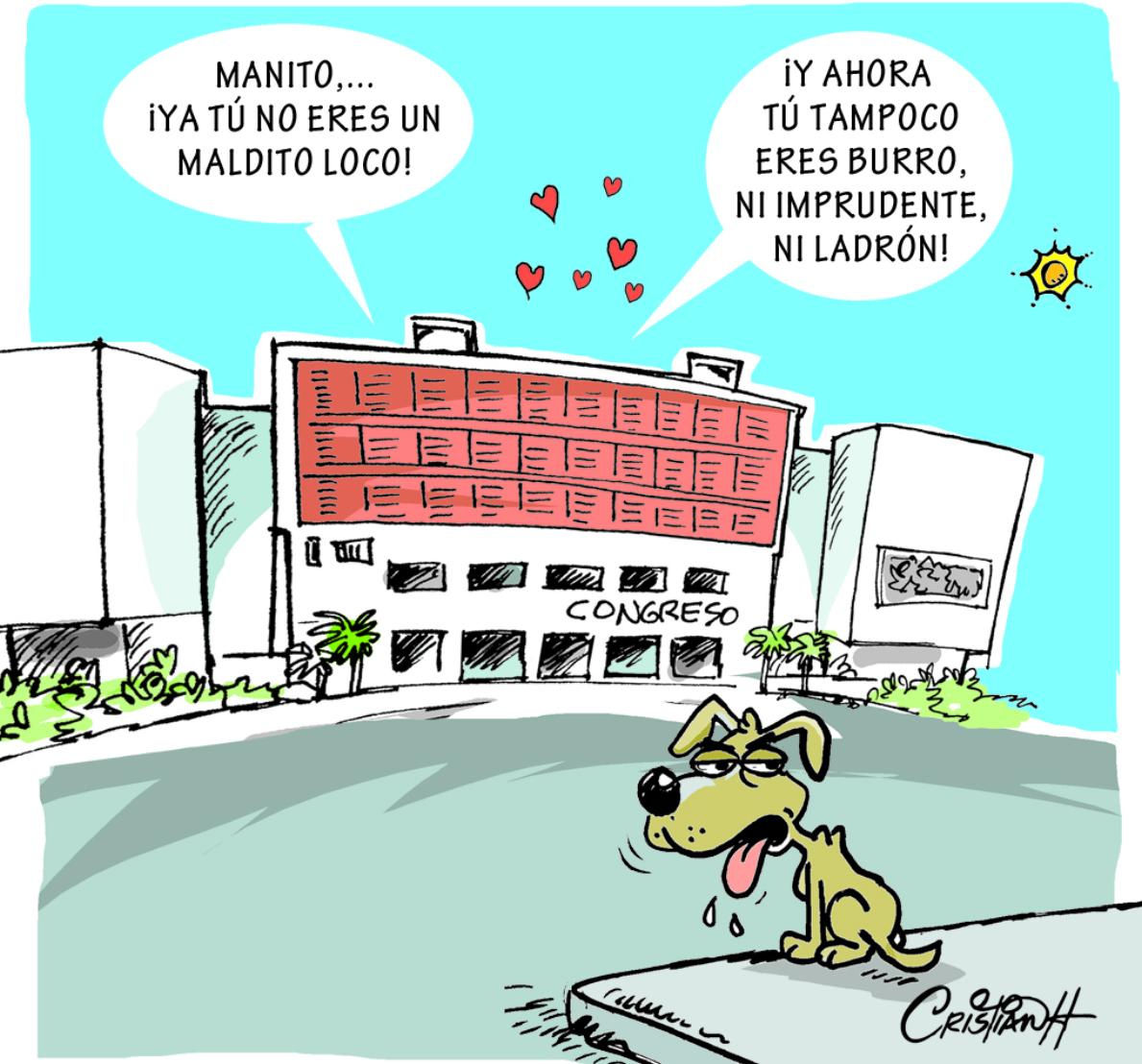 Caricatura Cristian Caricaturas – El Día, 26 de Octubre 2018