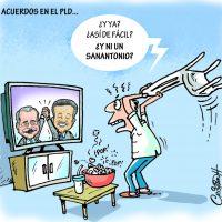 Caricatura Cristian Caricaturas – El Día, 29 de Octubre 2018