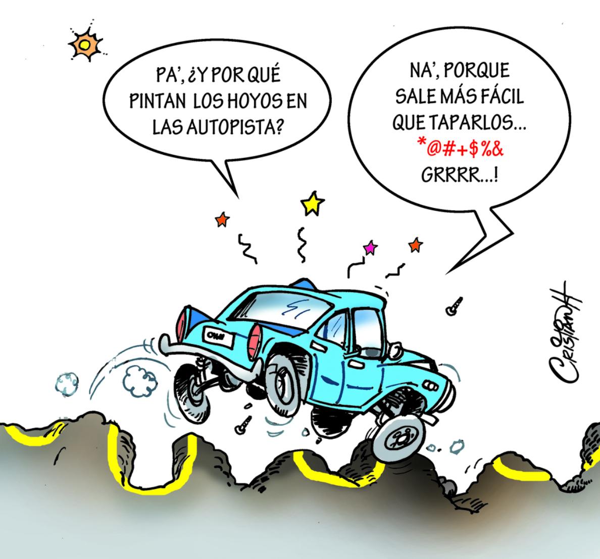 Caricatura Cristian Caricaturas – El Día, 30 de Octubre 2018