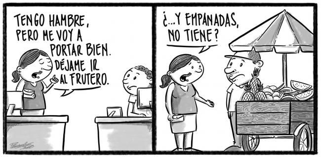 Caricatura Noticiero Poteleche – Diario Libre, 06 de Octubre 2018