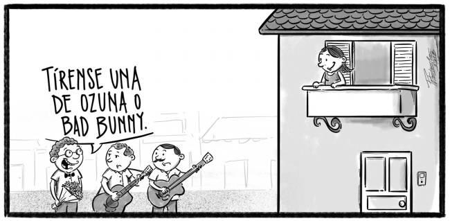 Caricatura Noticiero Poteleche – Diario Libre, 08 de Octubre 2018