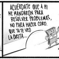 Caricatura Noticiero Poteleche – Diario Libre, 16 de Octubre 2018