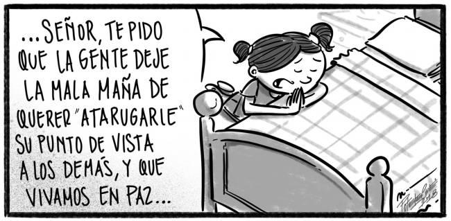 Caricatura Noticiero Poteleche – Diario Libre, 20 de Octubre 2018