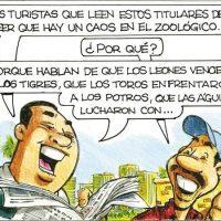 Caricatura Rosca Izquierda – Diario Libre, 01 de Octubre 2018