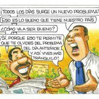 Caricatura Rosca Izquierda – Diario Libre, 10 de Octubre 2018
