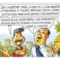 Caricatura Rosca Izquierda – Diario Libre, 16 de Octubre 2018