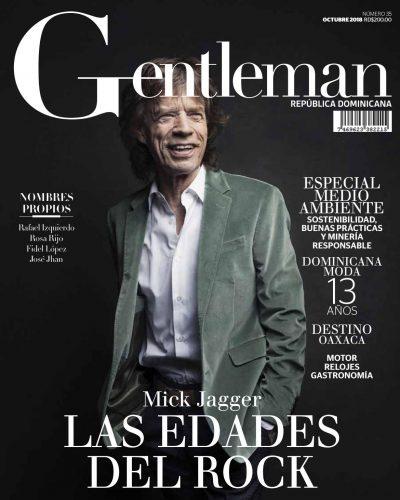 Portada Gentleman, Octubre 2018
