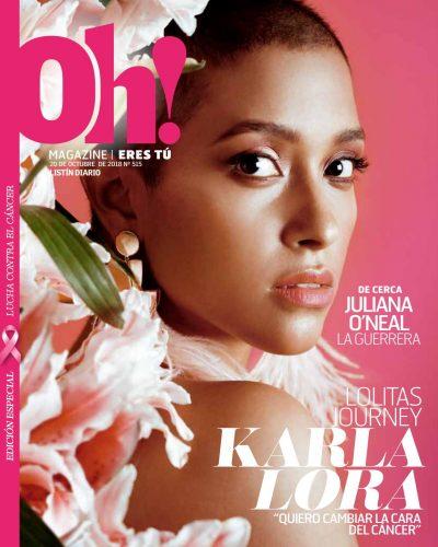 Portada Oh! Magazine, 22 de Octubre 2018