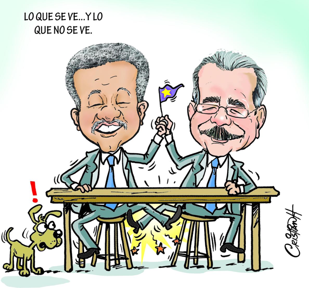 Caricatura Cristian Caricaturas – El Día, 01 de Noviembre 2018