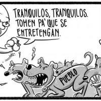 Caricatura Noticiero Poteleche – Diario Libre, 01 de Noviembre 2018